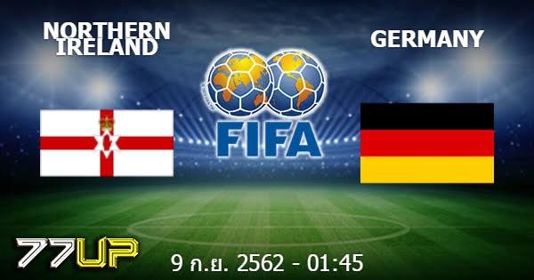ศึกฟุตบอลยูโร รอบคัดเลือก กลุ่ม Cคู่ระหว่าง ไอร์แลนด์ (29) VS เยอรมัน(15)