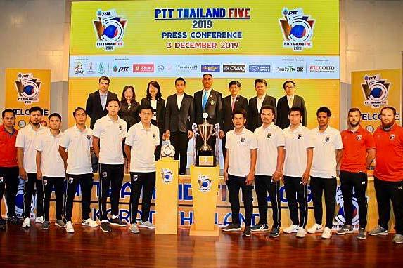 เกาะติดข่าวกีฬา แข้งไทยของอัดเวียดนามส่งท้าย PTT Thailand Five 2019 สมัยที่ 2